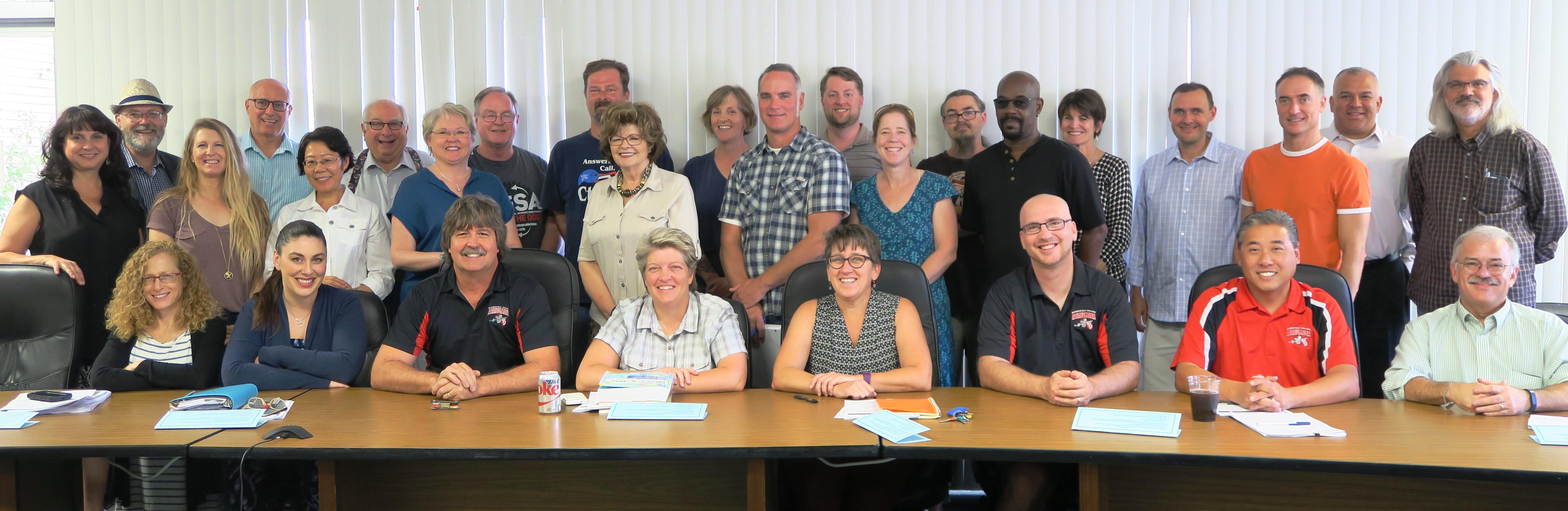 16-17 Academic Senate Group Photo